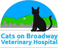 Cats on Broadway Veterinary Hospital Logo